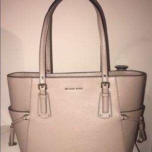 NEW Michael Kors Leather Tote Bag